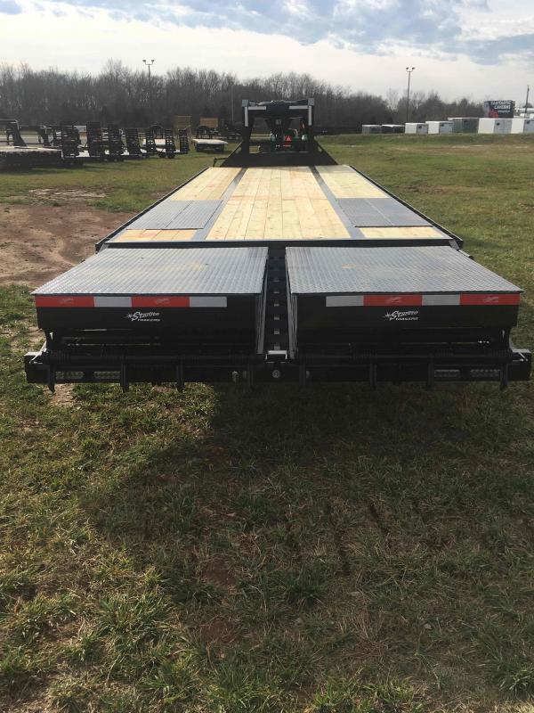 2021 Starlite Trailers 32TDGN-LP DECKOVER Equipment Trailer