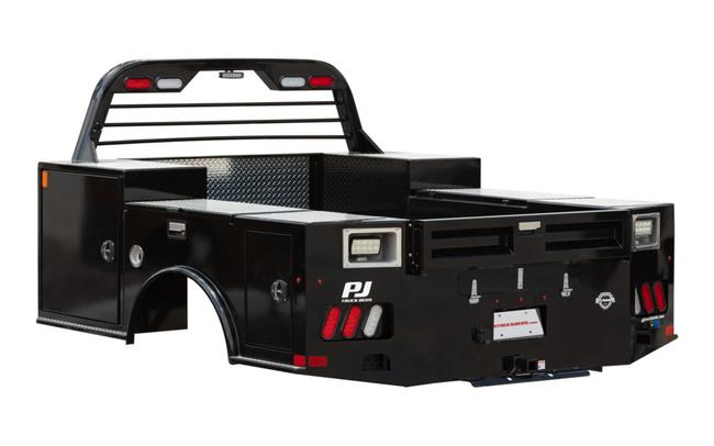 2021 PJ Truck Beds GT STEEL BODY TRADESMAN Truck Bed