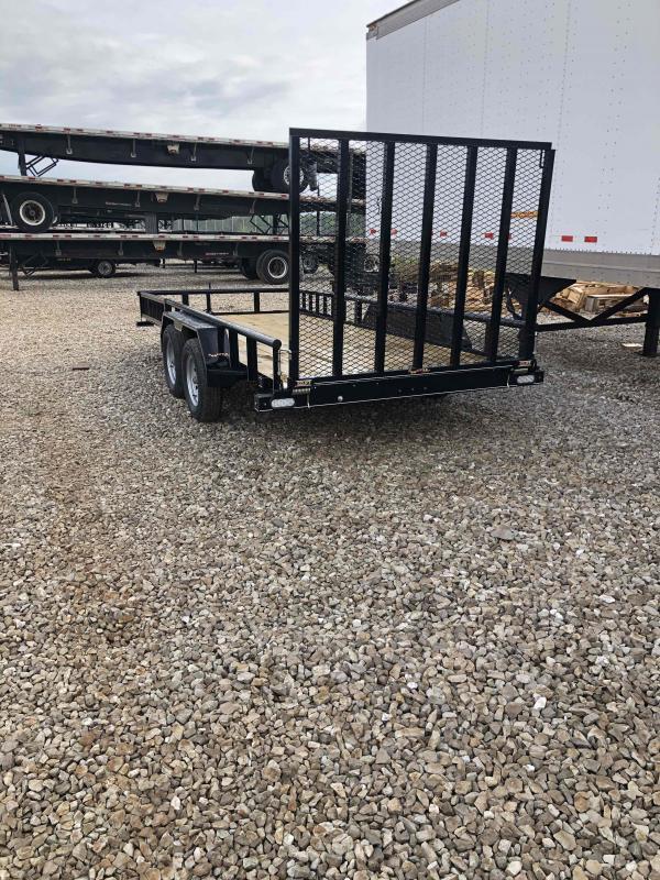 2021 Doolittle Trailer Mfg UT77X16 Equipment Trailer
