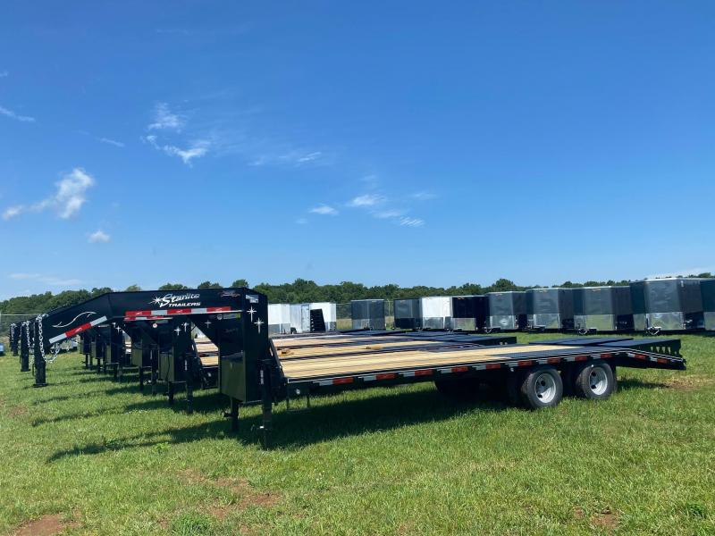2020 Starlite Trailers 25TDGN-LP DECKOVER Equipment Trailer