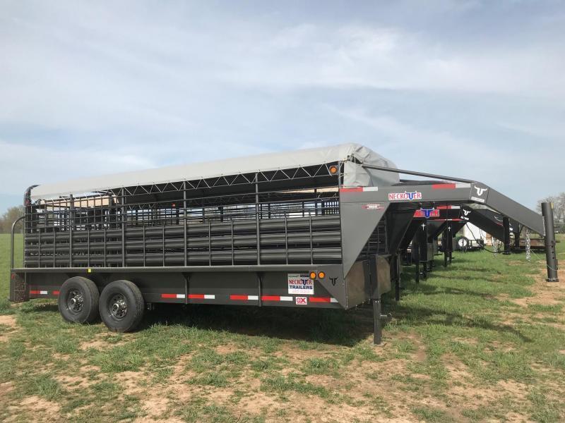 2020 Neckover Trailers GL20-2-7KS Livestock Trailer