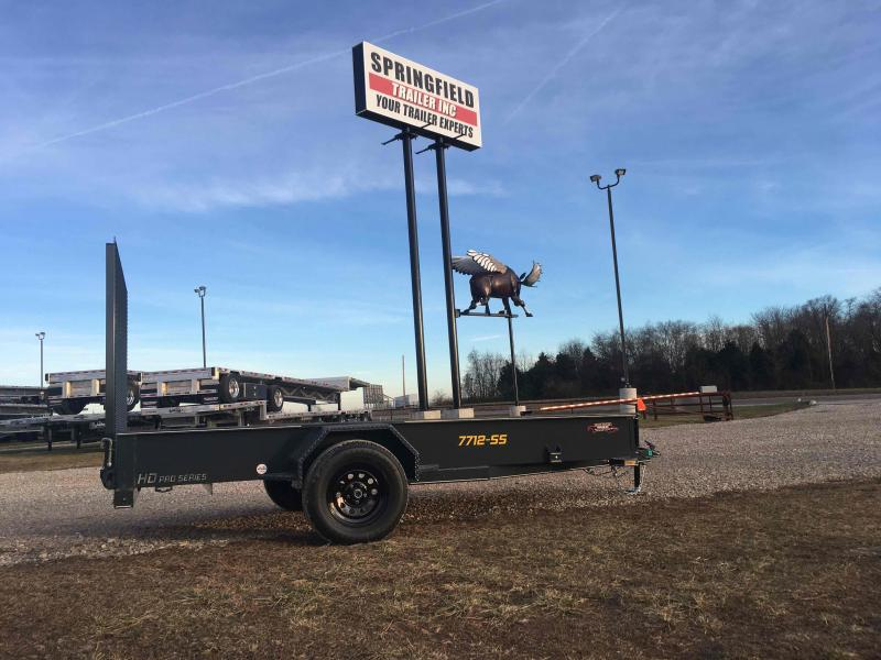 2021 Doolittle Trailer Mfg 77x12-SS Utility Trailer