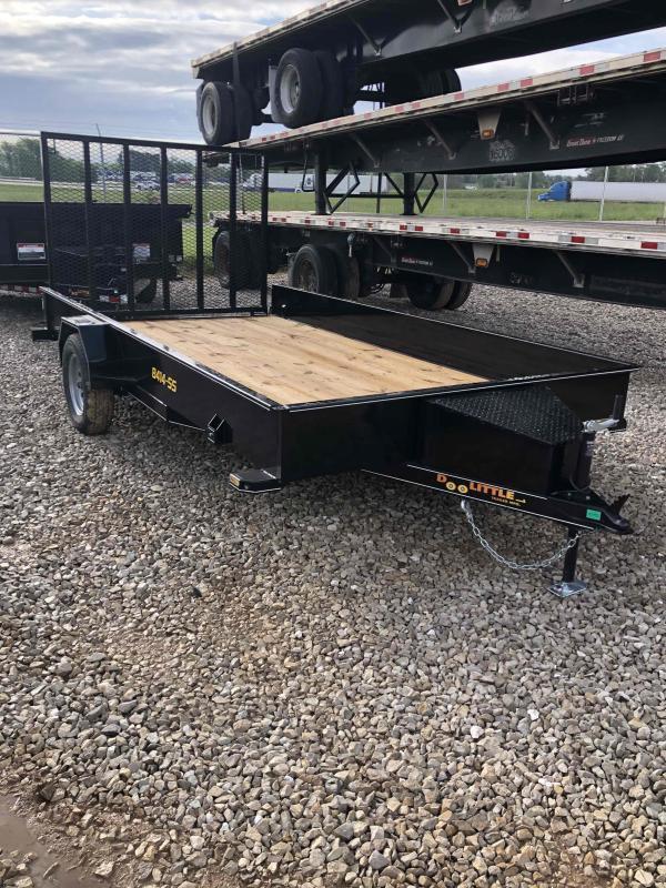2021 Doolittle Trailer Mfg UT84X123SS Utility Trailer