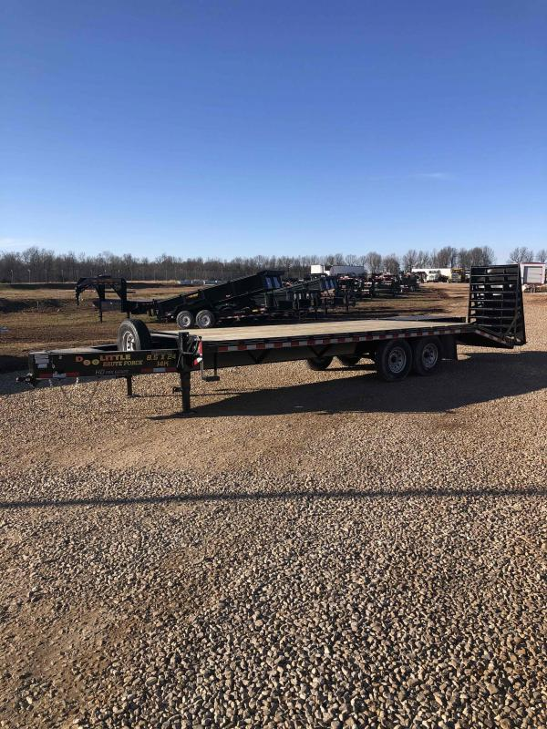 2021 Doolittle Trailer Mfg BF1022414K DECKOVER Equipment Trailer