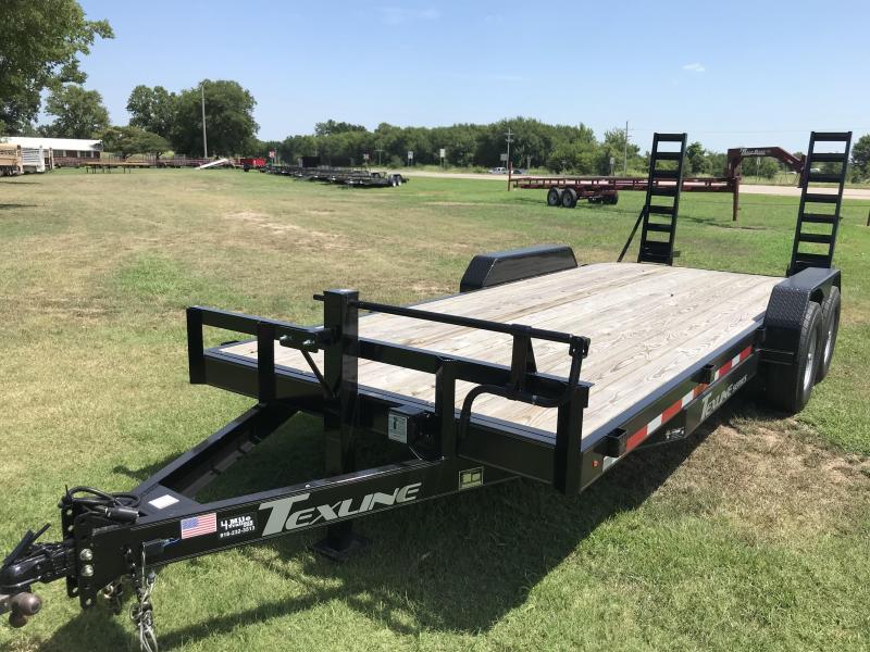 "2020 TexLine  Bobcat 83""X20' Equipment Trailer"