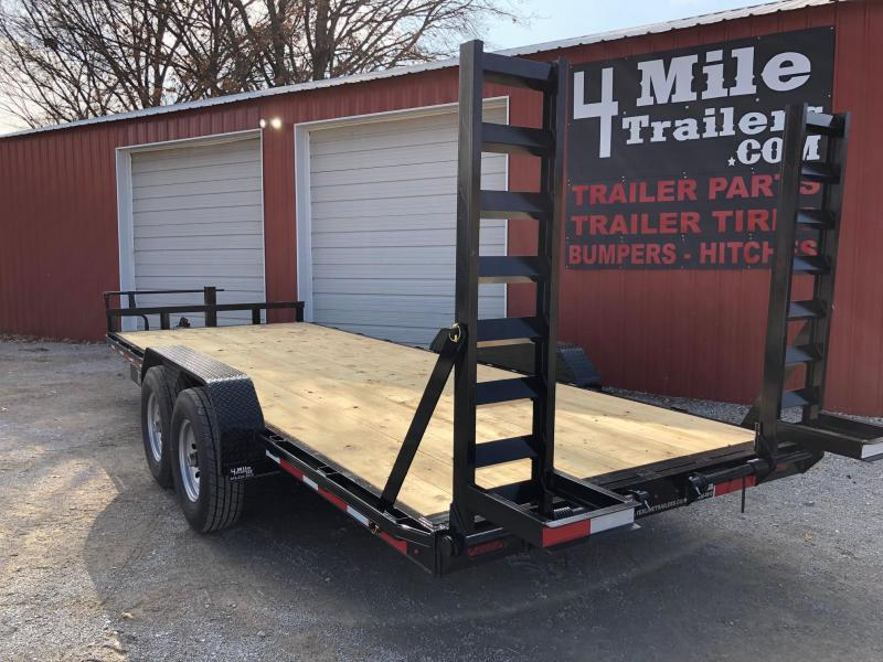 "TexLine  Bobcat 83""X20' Equipment Trailer"
