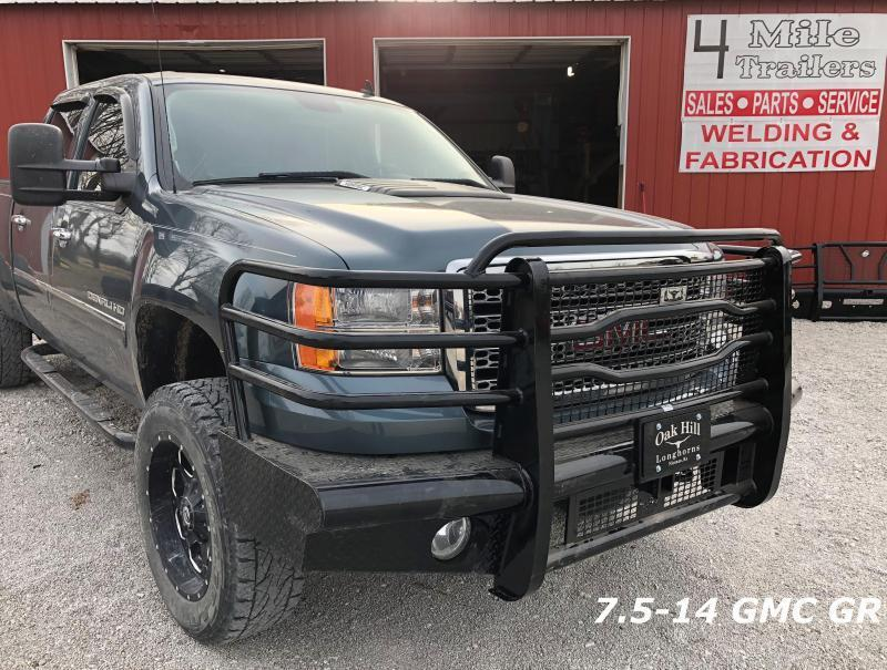 7.5-14 GR GMC Front Replacement Bumper