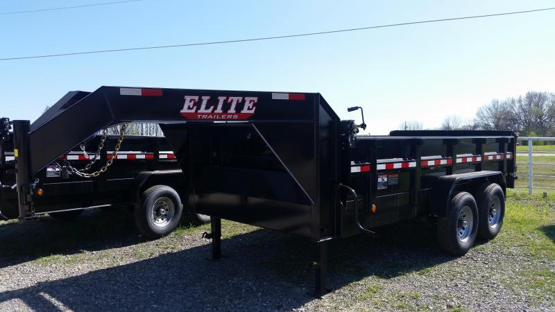Elite Gooseneck Dump Trailer