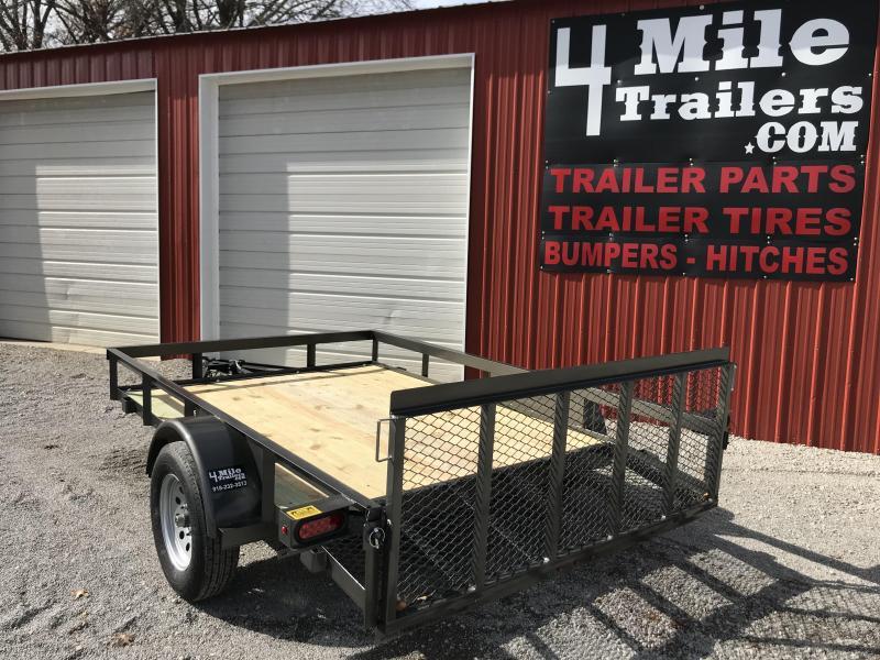 """2020 TexLine 77""""x10' Utility Trailer"""