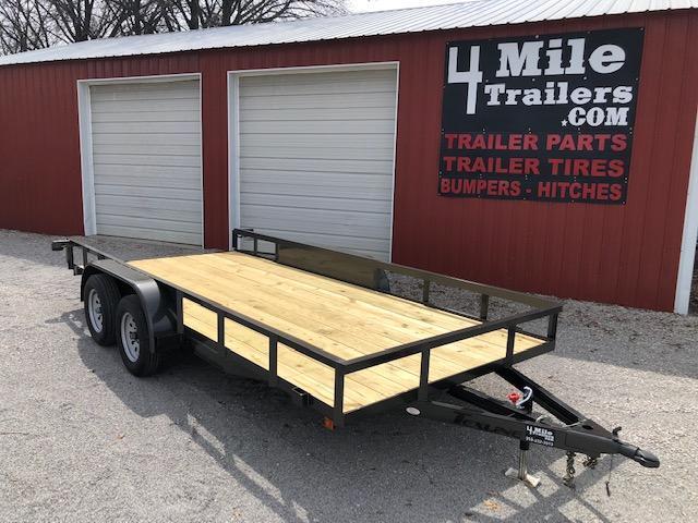 """TexLine 83""""X16' Utility Trailer"""