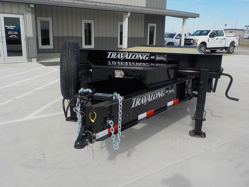 "2021 Travalong 102"" x 25' Deckover Equipment Trailer"