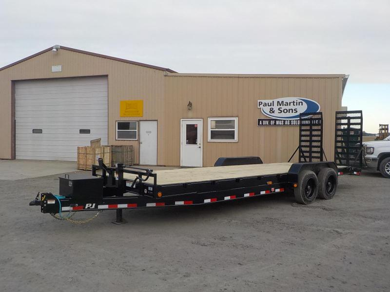 "2020 PJ Trailers 24' x 8"" Channel Equipment Trailer"