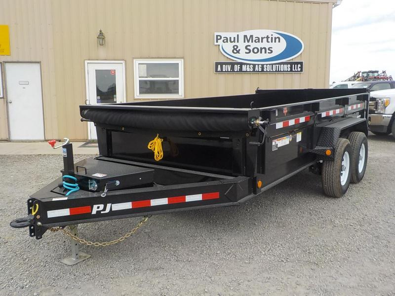 2019 PJ Trailers Low Pro Dump Dump Trailer