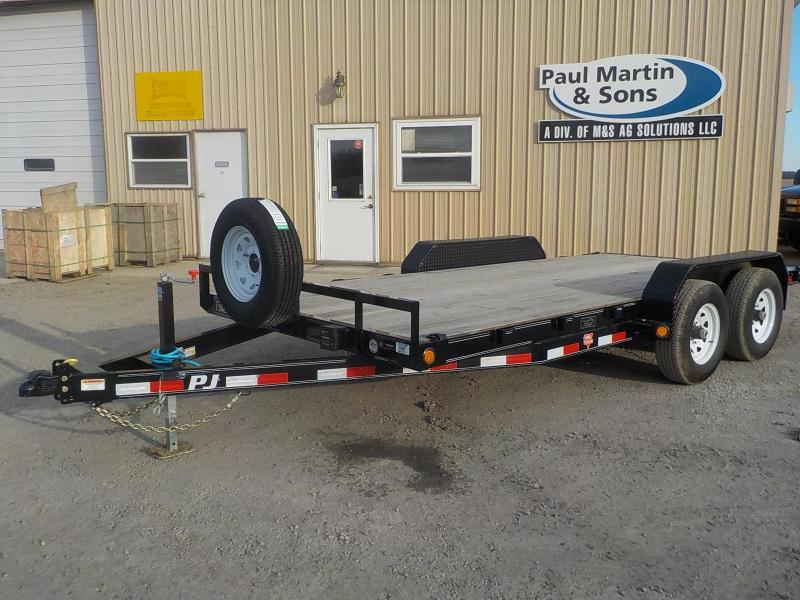 "2020 PJ Trailers 16'x5"" Channel Equipment Trailer"