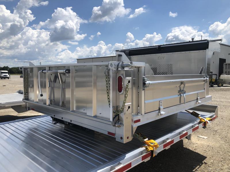 "2019 EBY 9'4""x98"" Aluminum General Purpose Dump Truck Body"