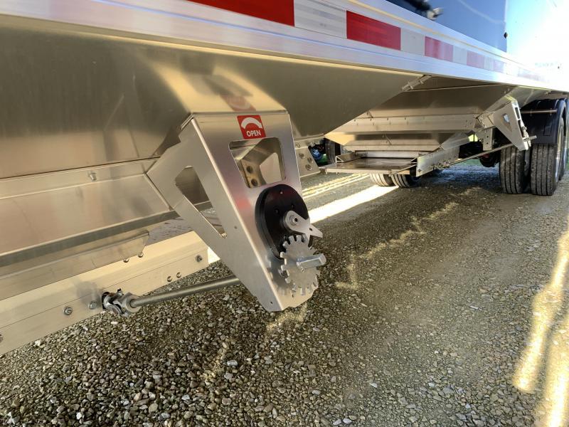 "2022 EBY 40'X96""X72"" Aluminum Generation Grain Trailer"