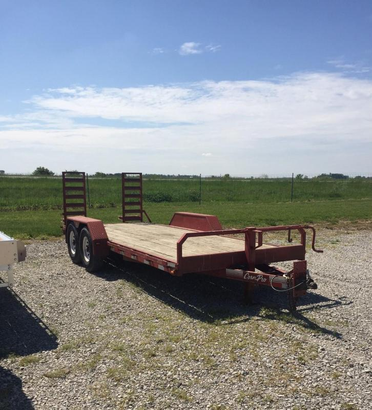 2003 CornPro Equipment Trailer Equipment Trailer
