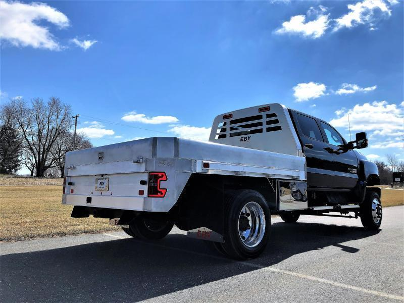 """EBY 11' x 97-1/4"""" Big Country Flatbed W/Taller BH for Chevy 4500-6500  Body"""
