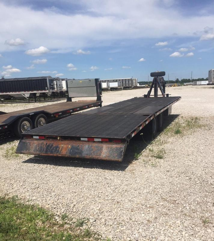 2015 Kiefer Built Equipment Flatbed Trailer