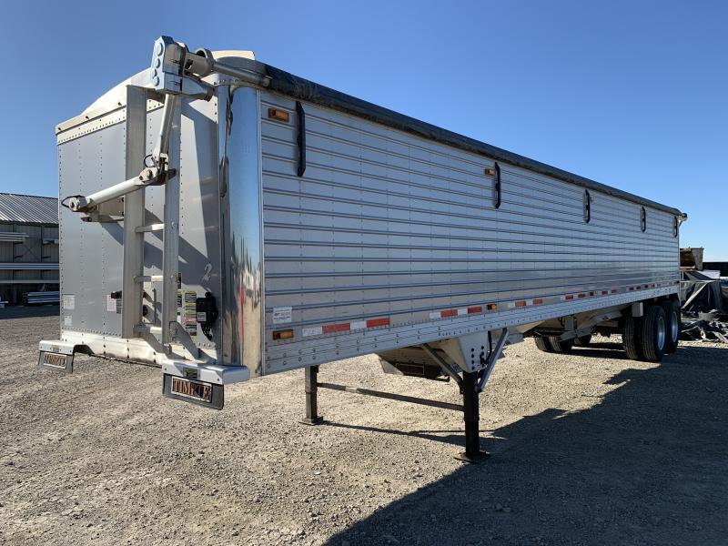 "USED 2015 Timpte 40'x96""x72"" Hopper Trailer"