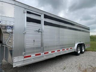 "2020 EBY 26' x 8' x 6'6"" Ruffneck Slat B Final Drive S.S.  GN Livestock"