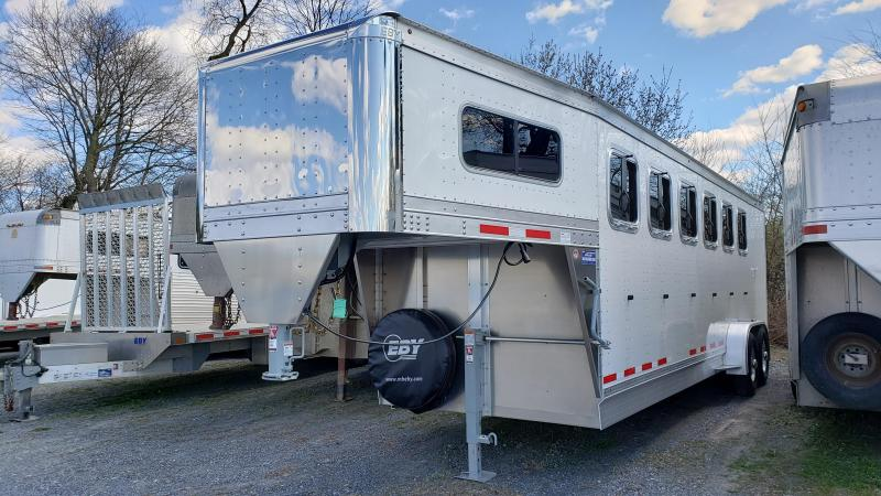 2021 EBY 5/6 Pacesetter Horse Trailer