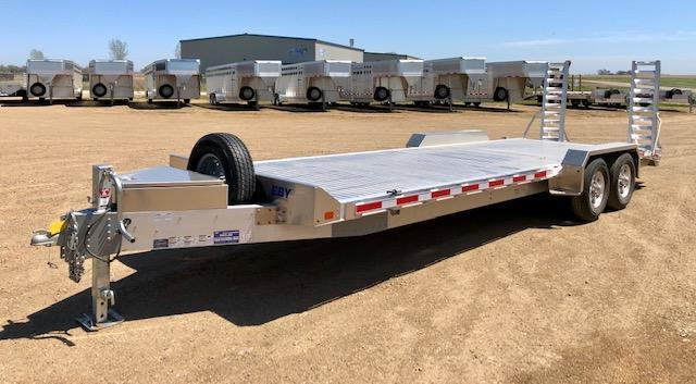 "2020 EBY 24'6"" Low Pro Equipment Trailer"