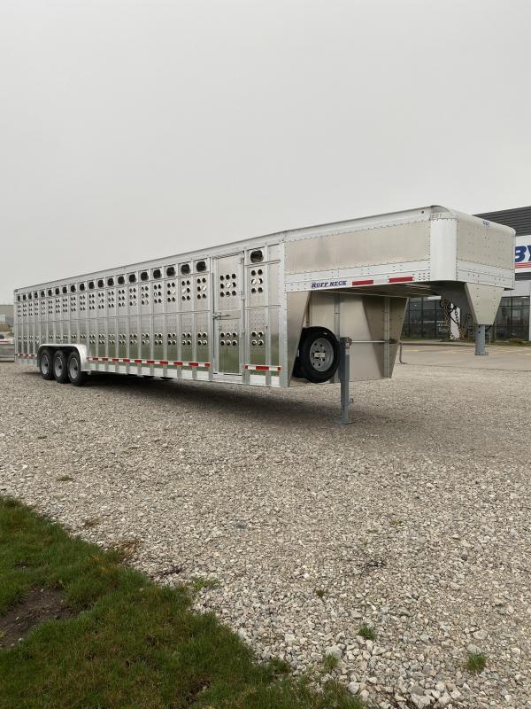 """2022 EBY Ruff Neck 36'6""""x8'x6'6"""" Livestock Trailer"""