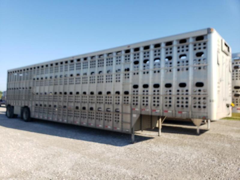 2007 EBY Bull Ride Livestock Trailer