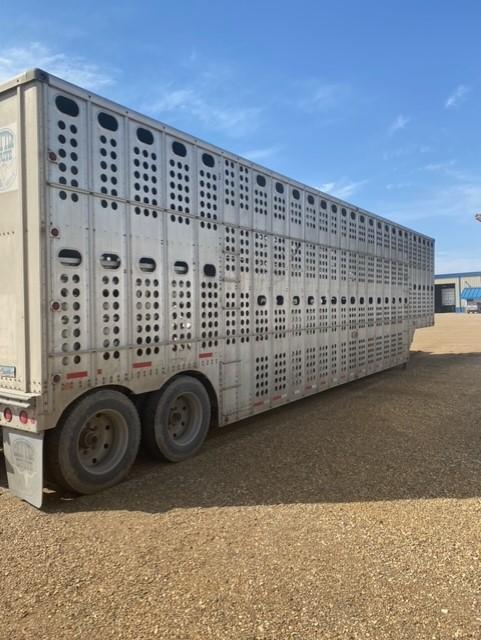 1993 Merrit Trailers Semi Livestock