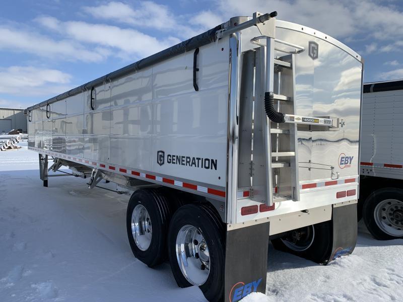 "2022 EBY 40' x 96"" x 66"" Aluminum Generation Grain Trailer"