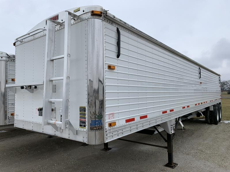 "2012 Timpte 40' x 96"" x 72"" Grain Hopper Trailer"