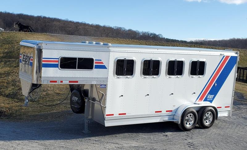 "2020 Eby 3/4 Pacesetter 18' x 6'11"" x 7'6"" GN Horse"