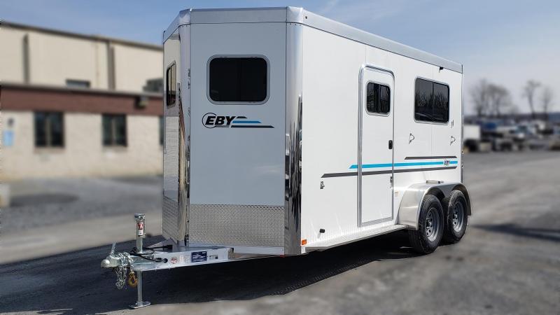 """2021 EBY VICTORY II 2 HORSE 14' x 6'8"""" x 7'6"""" BH"""