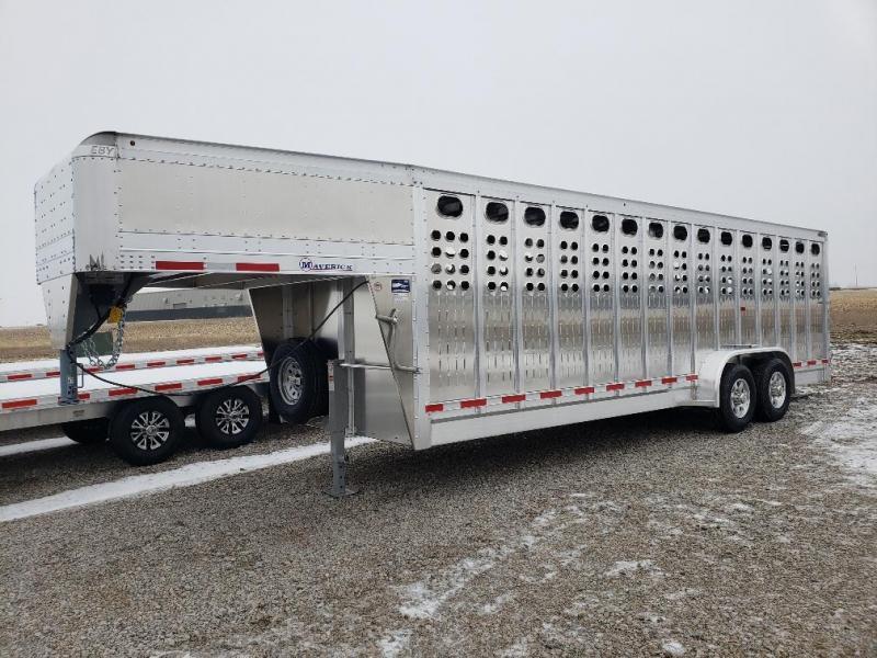 2022 EBY PP Maverick Livestock Trailer