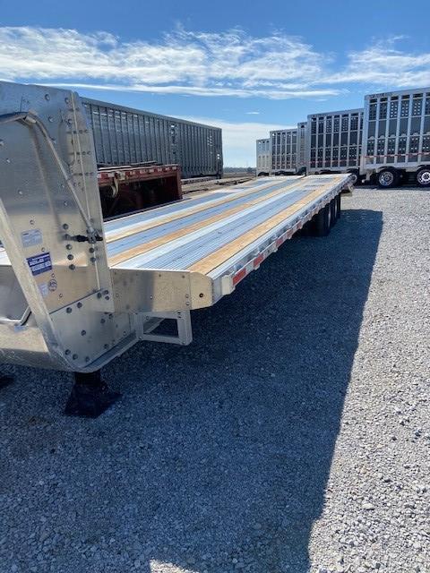 2021 EBY 30'+5' Equipment Trailer- 12k Elec/Hyd Disc Brakes