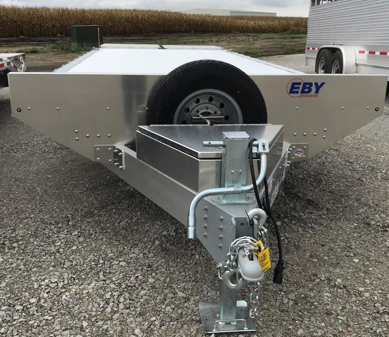 2021 EBY Deck Over Equipment Trailer - Tradesman Package Equipment Trailer