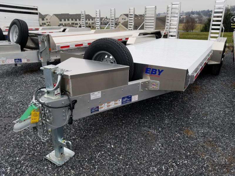 "2021 EBY 20' x 82"" Low-Pro Equipment Bumper Hitch Trailer"