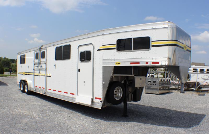 2018 EBY Victory 4 Horse Head to Head Trailer