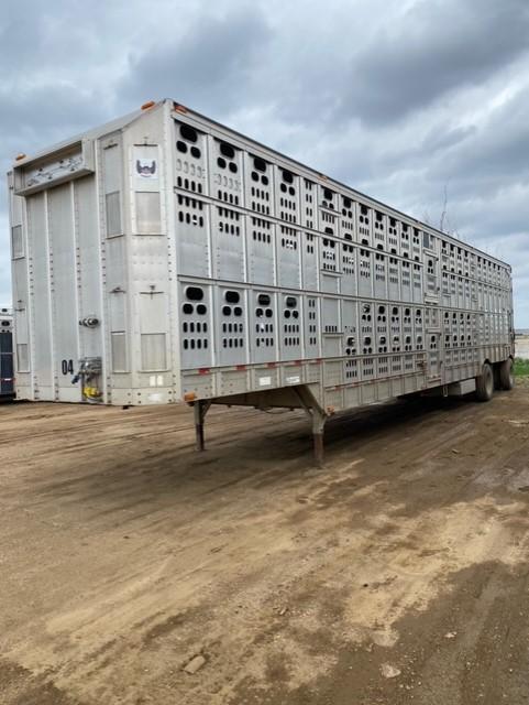 2006 Barrett Trailers Drop Floor Livestock