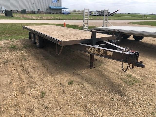 2008 Dressen 18' Deck Over Equipment Trailer