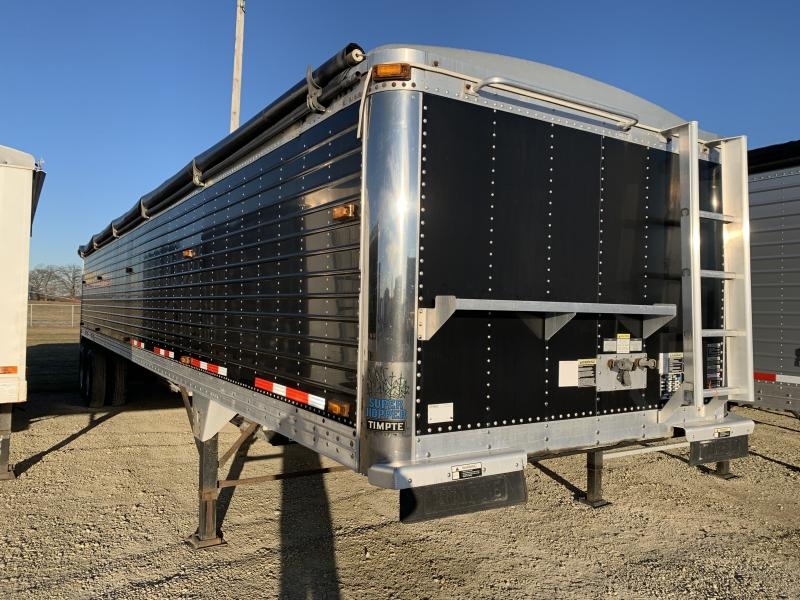 "2009 Timpte 40' x 96"" x 66"" Grain Hopper Trailer"