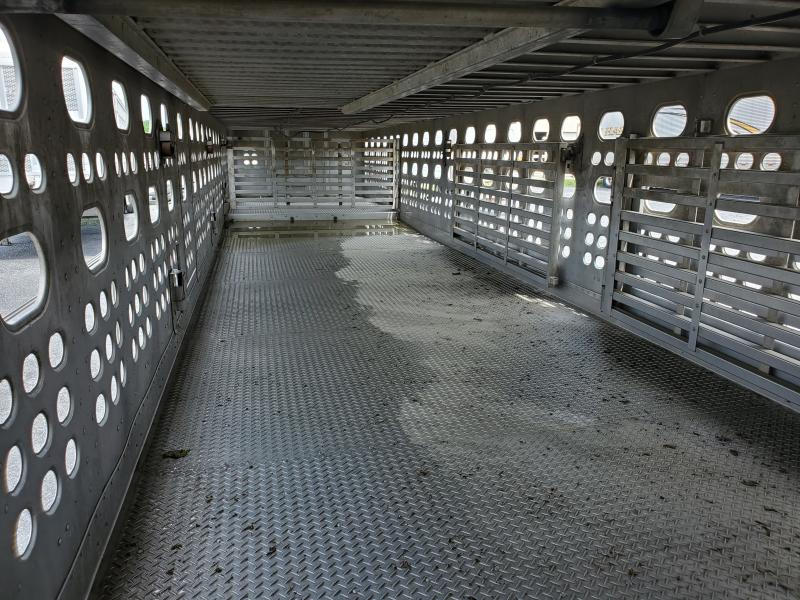 EBY 2006 EBY 53' Drop Livestock Semi Ser. #1012535  Livestock-Semi