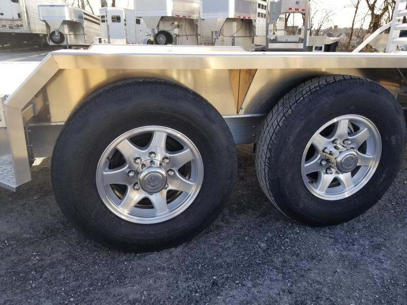 "2019 Eby 24'6"" x 82"" 14K Low Pro - Tradesman w/spare  BH Equipment"
