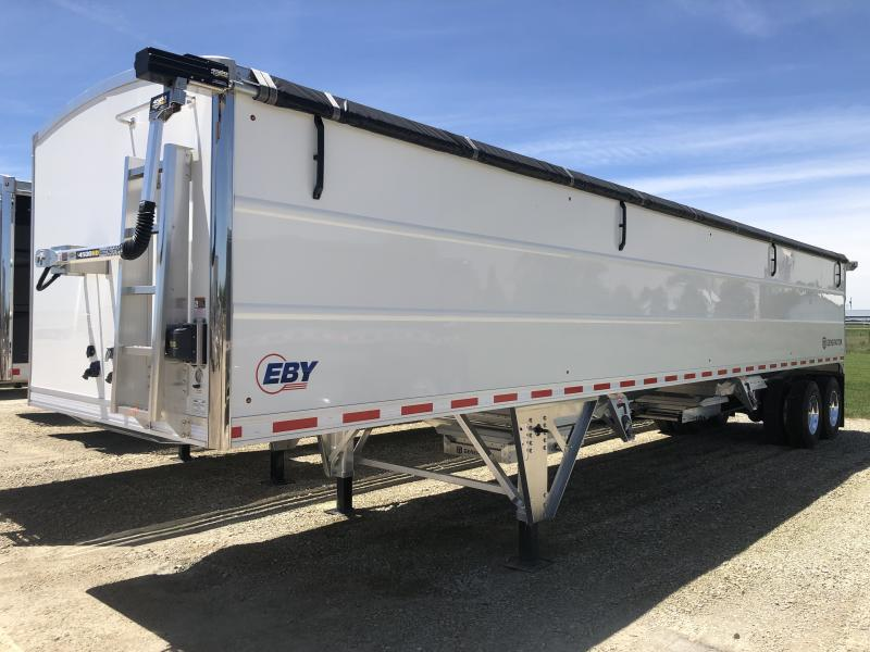 "2021 EBY Generation 40'X96""X72"" Aluminum Grain Hopper Trailer"