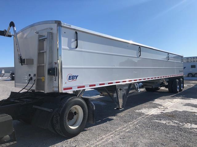 "2022 EBY Generation 42'x96""x66"" White Charter - Field Clearance  Semi Grain Trailer"