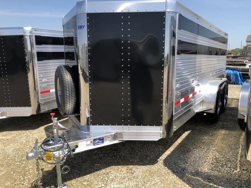 "2020 EBY 16' x 6'11"" x5'6"" Maverick Bumper Hitch Trailer"