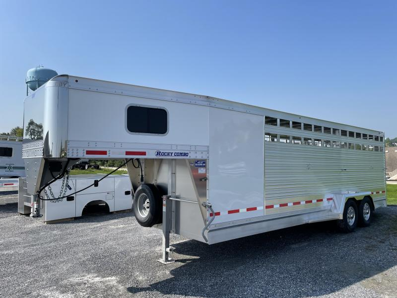 2022 EBY Maverick Combo Livestock Trailer
