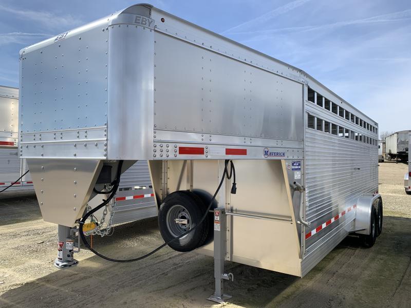 2022 EBY Maverick Livestock Trailer