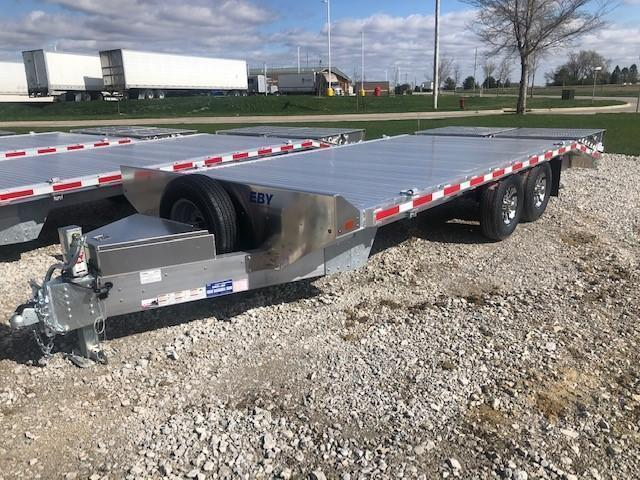 2021 EBY DECK OVER Equipment Trailer